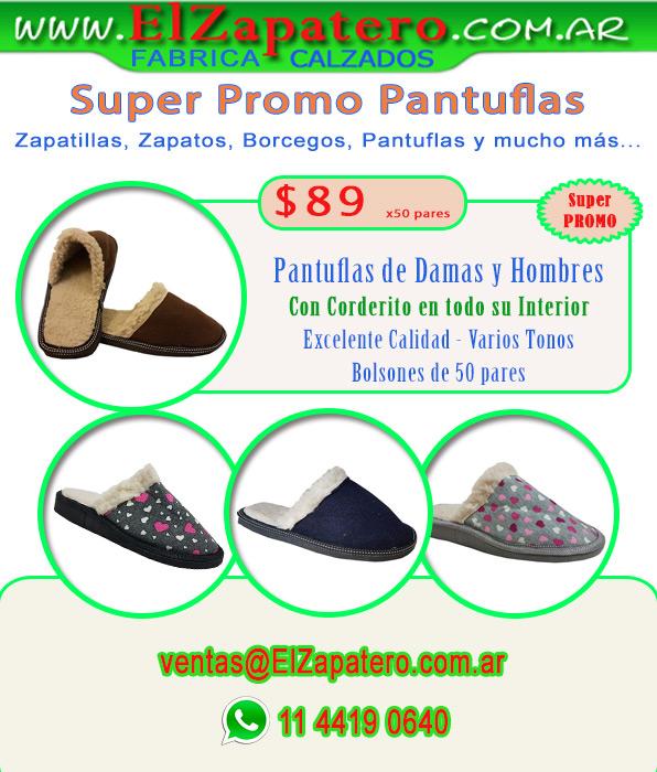 Promo Pantuflas